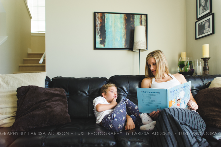 South Surrey Family Lifestyle Session with Luxe Photography